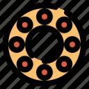 ball bearing, bearing, mechanical