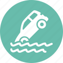auto insurance, car insurance, flood insurance, vehicle icon
