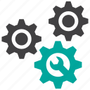 gear, machine, maintenance icon