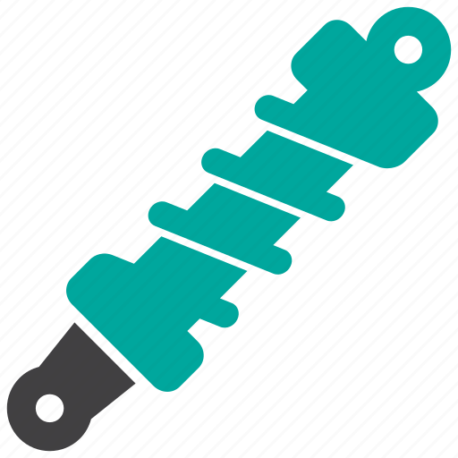 car, part, shock absorber, suspension, vehicle icon