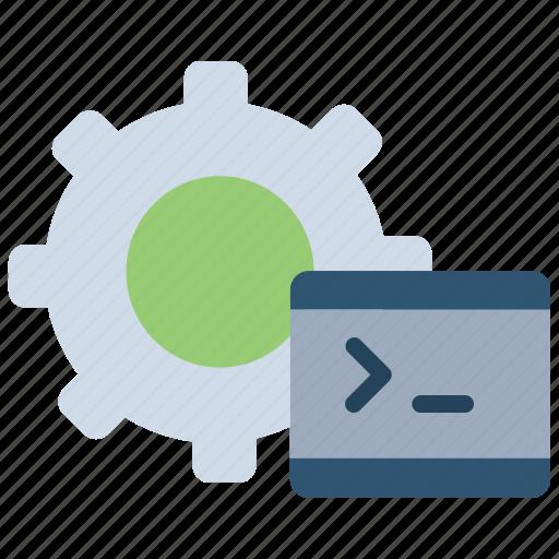 automation code, coding, configuration file, development, test script, testing icon