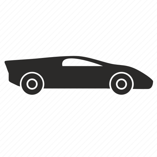 automobile, car, race, speed icon