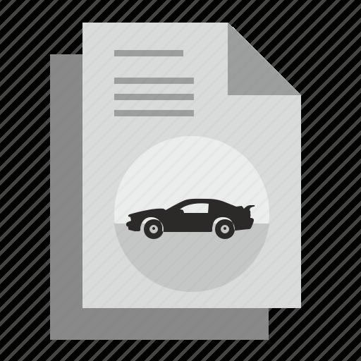 article, auto, automobile, car, dream, magazine icon