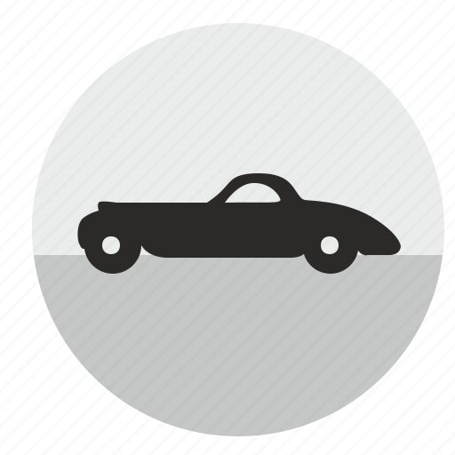 auto, automobile, car, dream, muscle, retro icon