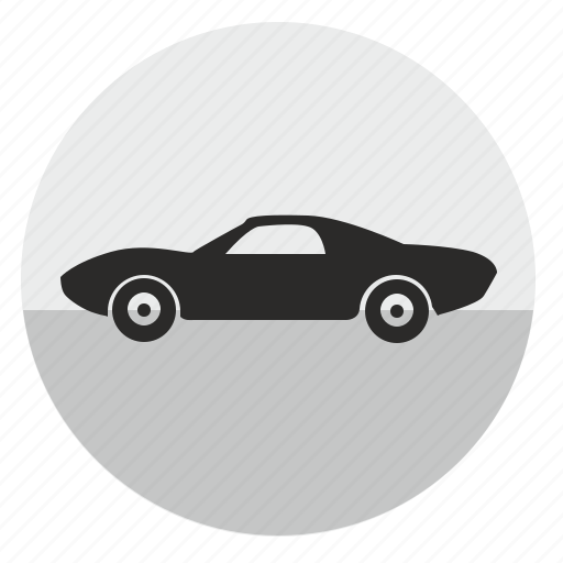 auto, automobile, car, muscle, roadster, speed icon