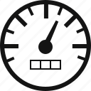 automobile, car, gauge, speedometer icon