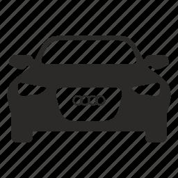 audi, auto, car, premium, sedan, transport icon