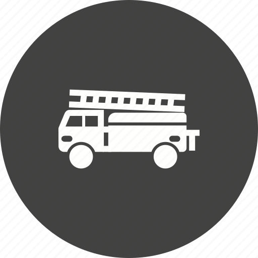 airport, brigade, emergency, engine, fire, red, truck icon