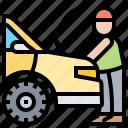 automotive, checking, garage, maintenance, mechanic