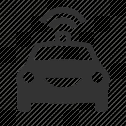 autonomous, car, driverless, self drive icon