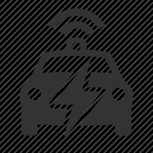 autonomous, car, electric, ev icon