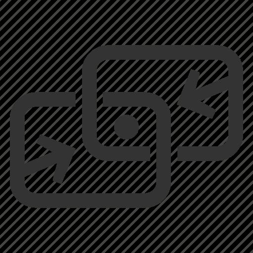access, data, exchange, remote icon