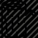 baulk, beam, billet, block, log, stock, timber icon
