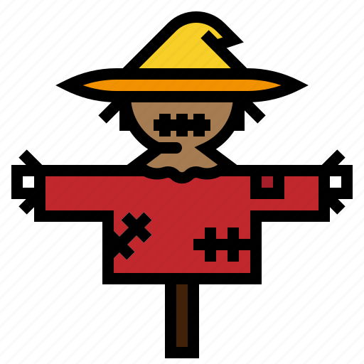 agriculture, cultivation, farm, scarecrow, strawman icon