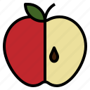 apple, fresh, fruit, sweet icon