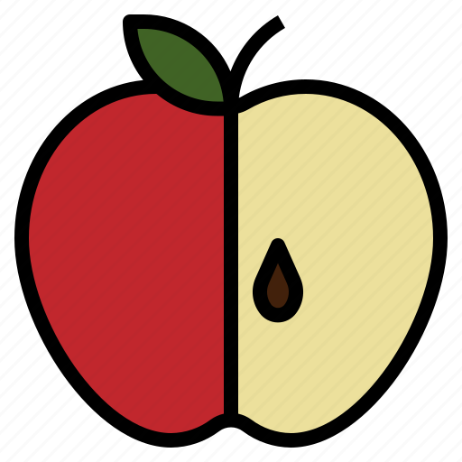 Apple, fresh, fruit, sweet icon - Download on Iconfinder