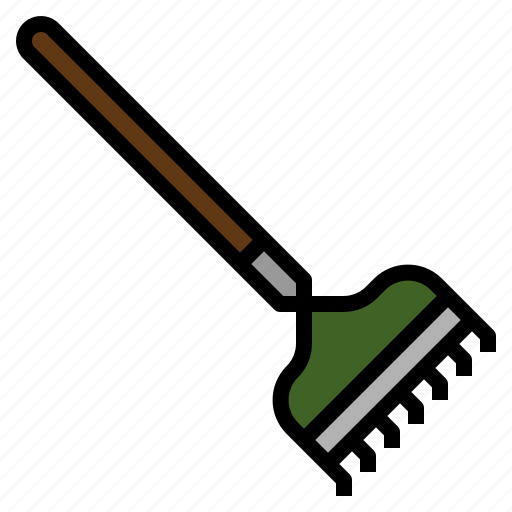 besom, broom, cleaning, cleanup, rake icon