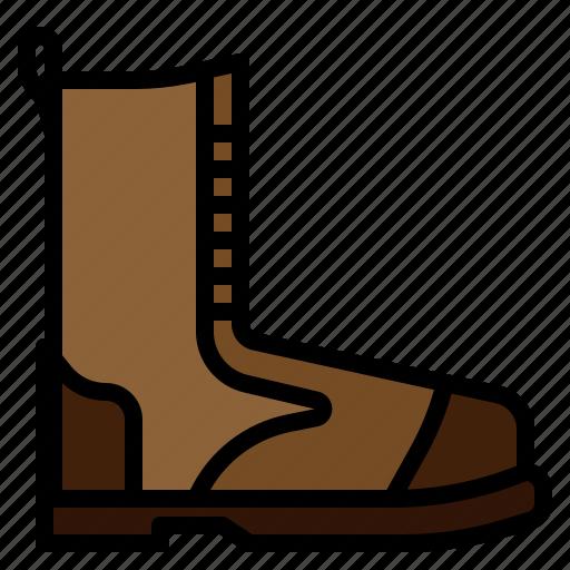 boot, footwear, hiking icon
