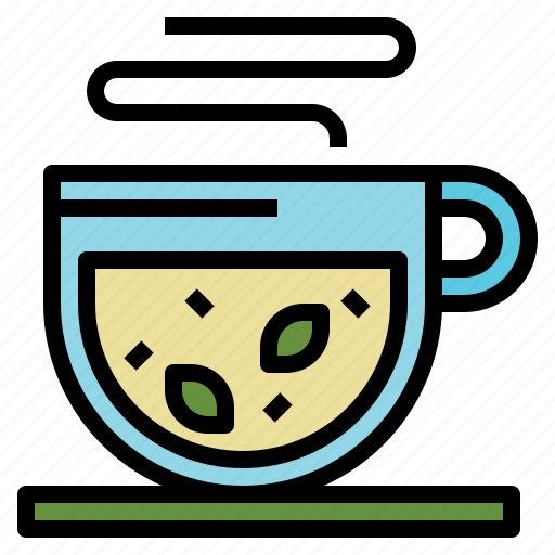 cup, drink, hot, of, tea icon