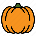 food, gourd, pumpkin, vegetable icon