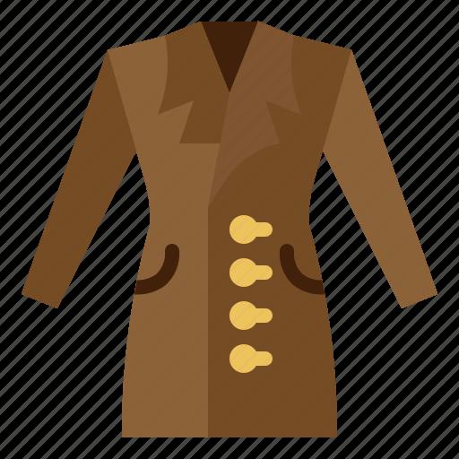 clothing, coat, dress, style, wear icon