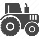 agriculture, autumn, farming, tractor icon