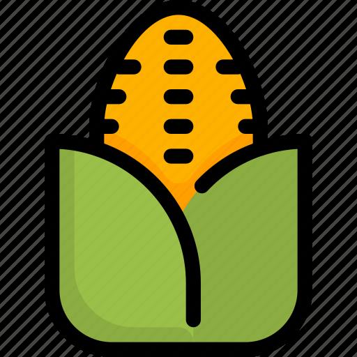 cooking, corn, food, fresh, fruit, vegetable icon