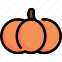 autumn, halloween, horror, pumpkin, season, winter icon