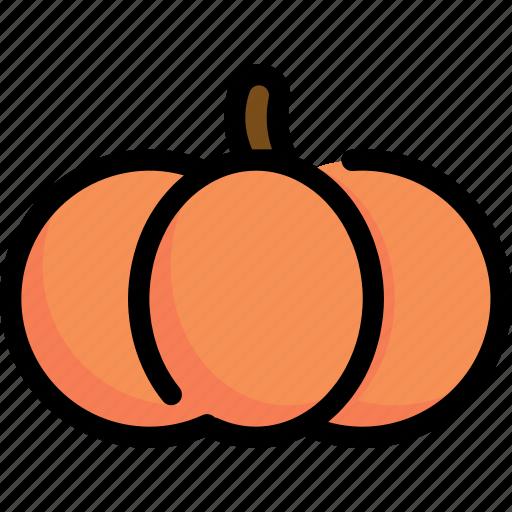 autumn, halloween, horror, pumpkin, season, winter icon