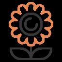 blossom, decoration, floral, flower, leaf, plant, spring icon