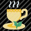 tea, hot, drink, cup, restaurant, food, coffee