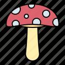 autumn, vegetable, fungus, mushroom icon