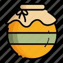 autumn, container, honey, jam, jar, kitchen