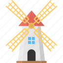 mill, wind energy, wind generator, windmill, windmill tower icon
