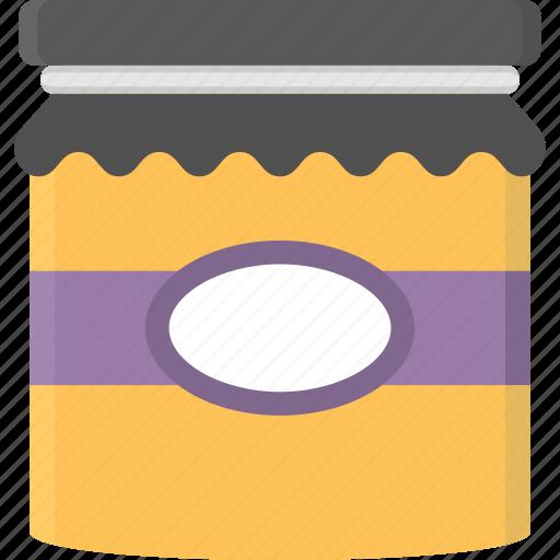 food, honey, honey bottle, honey container, honey jar icon