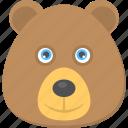 brown teddy, cartoon teddy bear, teddy bear, teddy face, toy teddy