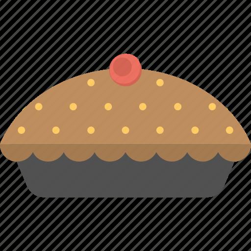 cupcake, cupcake with cherry, dessert, muffin, pancake icon
