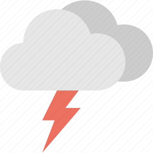 clouds lightning, lightning storm, thunderstorm, thunderstorm cloud, weather forecast icon