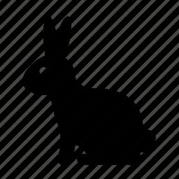 animal, autumn, fall, rabbit icon