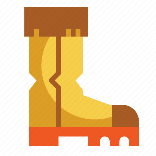 boots, footwear, shoes, warm, winter icon