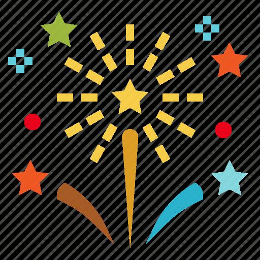 celebration, festival, fireworks, party, rocket icon