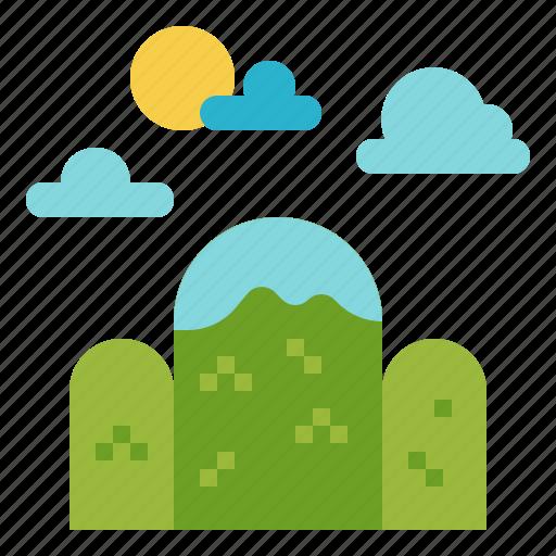 altitude, forest, landscape, mountain, nature icon