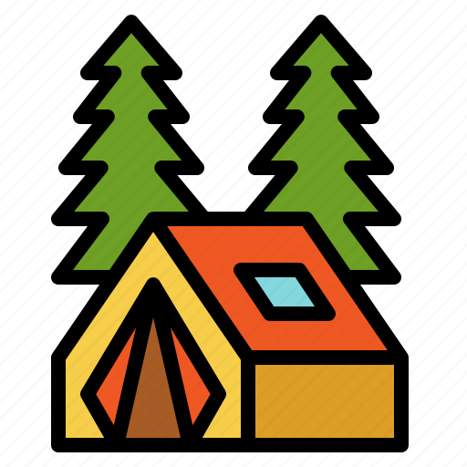 adventure, camping, forest, outdoor, picnic icon