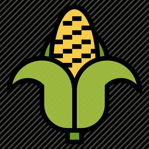 cereal, corn, food, healthy, organic, vegetarian icon