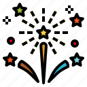 celebration, festival, fireworks, party, rocket icon