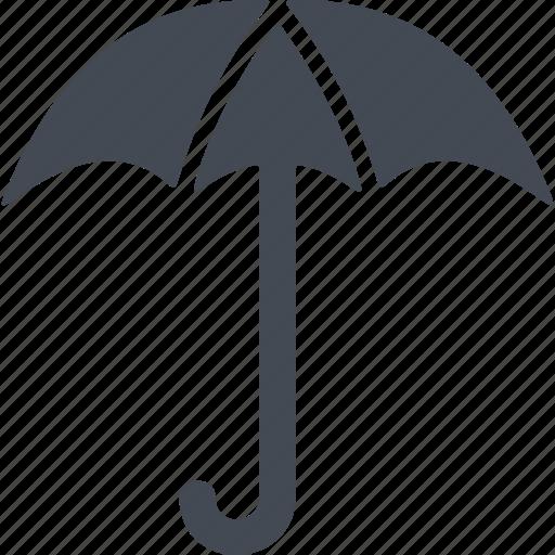 autumn, cover, rain protection, umbrella icon