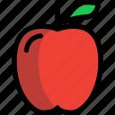 apple, autumn, food, fruit, season icon