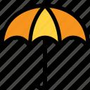 autumn, rain, season, umbrella