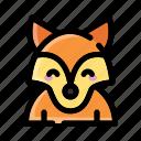 fox, animal, wild, foxy, wildlife, zoo, nature