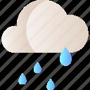 cloud, rain, rainy, season, weather